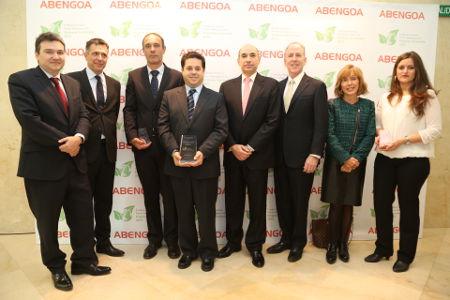 Premio ABENGOA empresa sostenible 2014